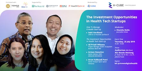 The Investment Opportunities in Health Tech Startups tickets