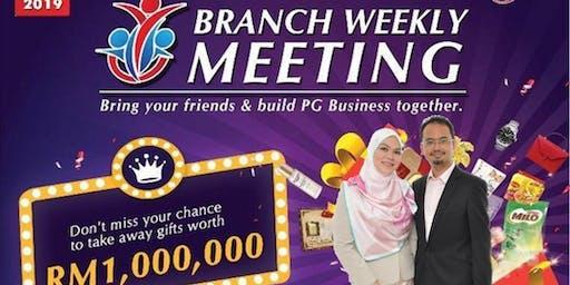 PG Mall Kuala Terengganu Jumaat Petang Branch Weekly Meeting