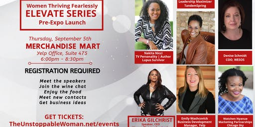 Women Thriving Fearlessly in Business - ELEVATE SERIES!  Expo Pre-Launch