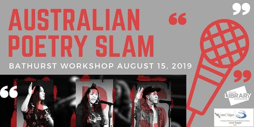Australian Poetry Slam - Bathurst workshop