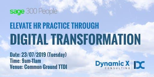Elevate HR Practice through Digital Transformation