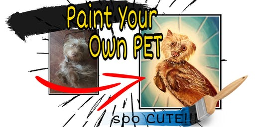 Paint Your Own Pet at Alehouse