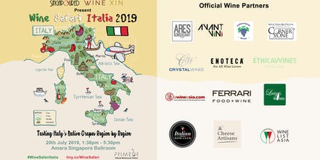 Wine Safari Italia 2019 tickets