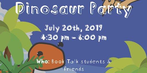 Book Talk Dinosaur Party 2.0(CWB)