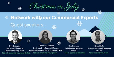 WHK Commercial Property - Christmas in July tickets