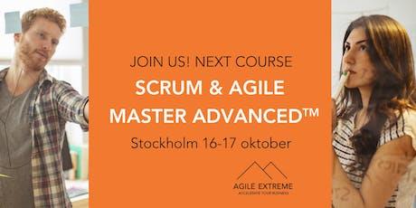 Scrum & Agile Master Advanced™ tickets