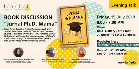 Book Discussion : Jurnal Ph.D. Mama tickets