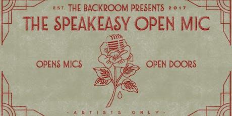 The Speakeasy Open Mic in Arlington tickets