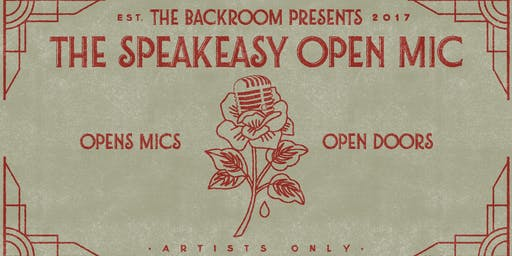 "The Speakeasy Open Mic's ""HEALING"" in Arlington"