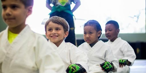 FREE Beginner's Martial Arts Class for Kids Ages 5-12