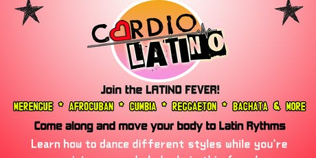 Cardio Latino - Monday (Latin Dance Fitness) tickets