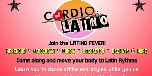 Cardio Latino - Monday (Latin Dance Fitness)