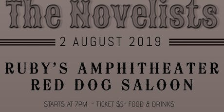 The Novelists play Ruby's Amphitheater! tickets