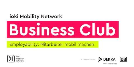 ioki Mobility Network Business Club Tickets