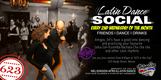 Latin Dance Social (2nd Wed of the month)