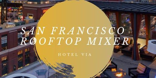 San Francisco Rooftop Mixer 9/5/19  at Hotel VIA