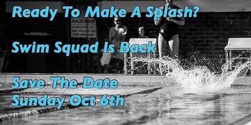 Swim Squad Is Back