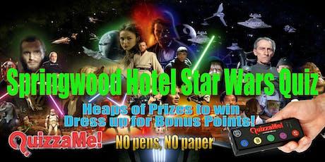 Springwood Hotel Star Wars Trivia tickets