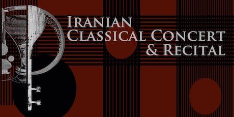 Iranian Classical Concert and Recital  tickets