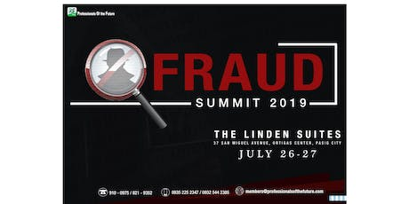 FRAUD SUMMIT 2019 tickets