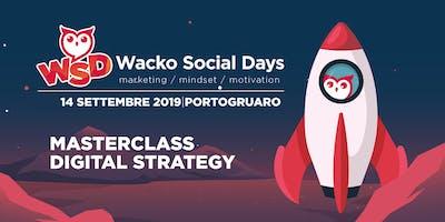 WACKO SOCIAL DAY: MASTERCLASS DIGITAL STRATEGY
