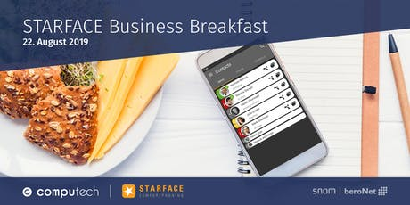 STARFACE Business Breakfast tickets