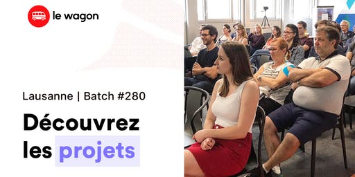 Demo Day Le Wagon - Batch #280 - MassChallenge