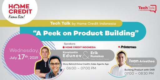 TechTalk: A Peek On Product Building