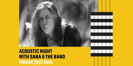 Acoustic Night With Sana & The Band tickets