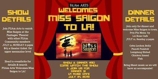 FilAm Arts welcomes Miss Saigon to LA!