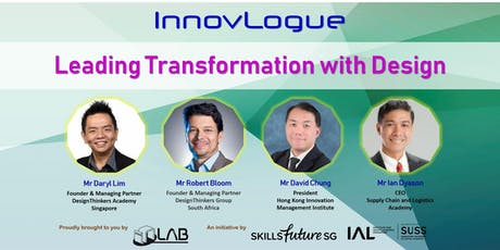 InnovLogue: Leading Transformation with Design (1 Aug) tickets