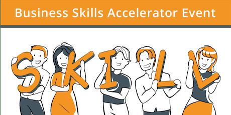 Business Skills Accelerator tickets