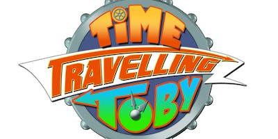 Cheltenham Library - Summer Reading Challenge - Graham Jones and Time Travelling Toby