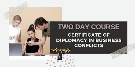 The Art of Conflict Resolution in Business: Vienna (9-10 December 2019)