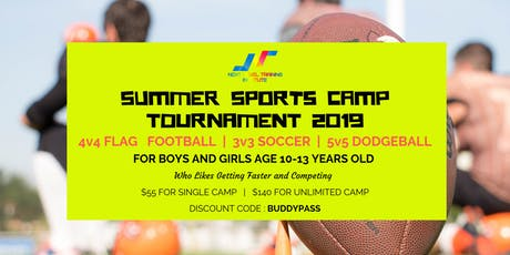 SUMMER SPORTS CAMP TOURNAMENT 2019 tickets