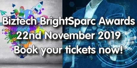 Biztech BrightSparc & Digital Awards tickets