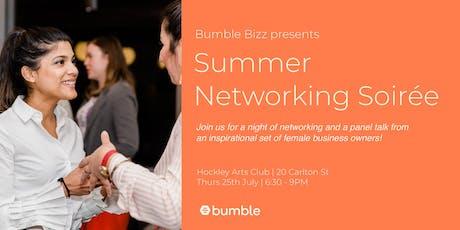 Bumble Bizz Summer Networking Soirée tickets