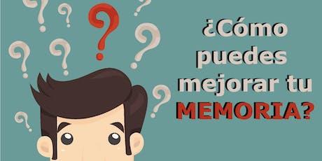 ¿CÓMO PUEDES MEJORAR TU MEMORIA? entradas