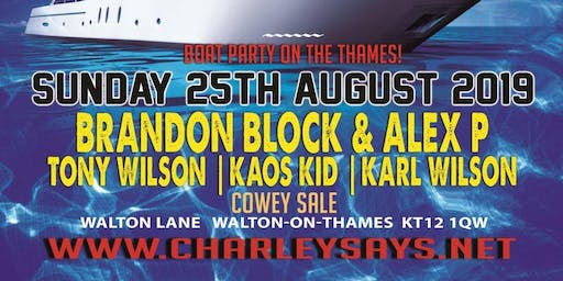 Love 4 Loud Boat Party with Alex P & Brandon Block