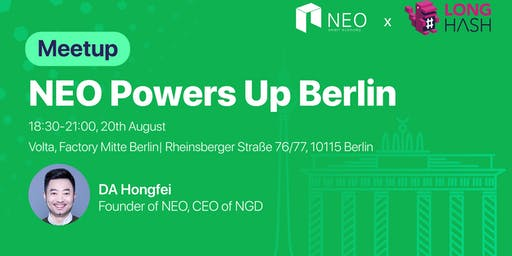 NEO Powers Up Berlin 2019
