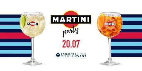 MARTINI presenta SUNSHINE IN THE PARK | INGRESSO GRATUITO biglietti