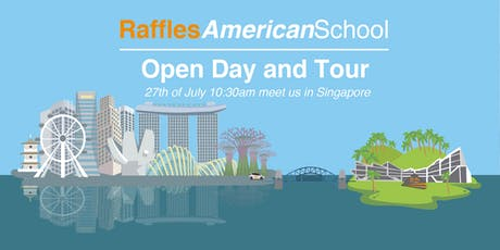 Raffles American School Morning Tea & Campus Tour (Meet in Singapore) tickets