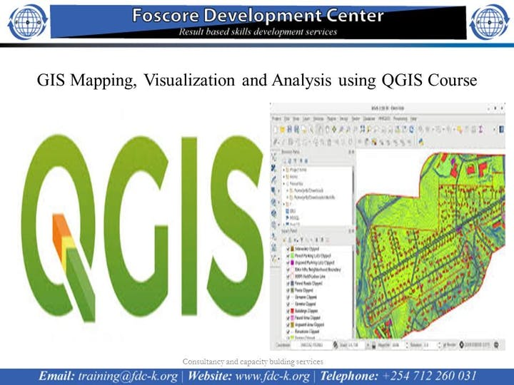 GIS Mapping, Visualization and Analysis using QGIS Course