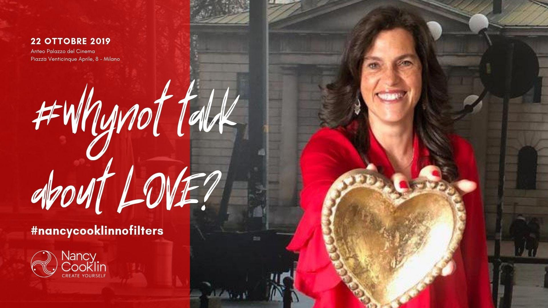#Whynot talk about LOVE?