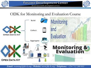 ODK for Monitoring and Evaluation Course tickets