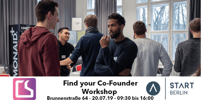 Find your Co-Founder Workshop