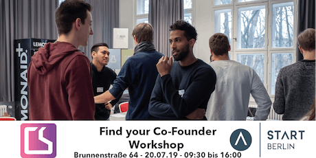Find your Co-Founder Workshop tickets