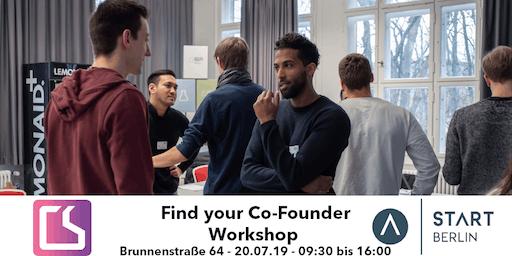 Find your Co-Founder Workshop