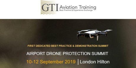 AIRPORT DRONE PROTECTION SUMMIT 2019 tickets
