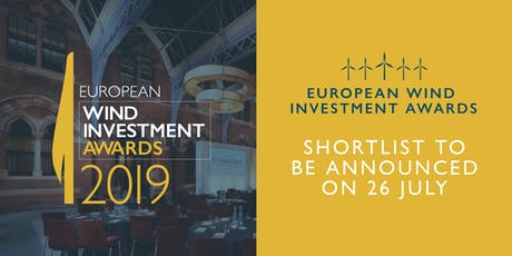 European Wind Investment Awards tickets